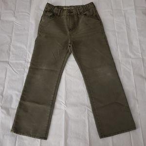 Gap Boys Olive Green Jeans